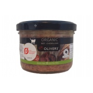 Olivers ORGANIC BEEF-CHICKEN LIVER for cat konservai katėms 200g