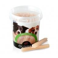 OLIVERS VEGETABLE DENTAL STICKS GRAIN FREE 500g (begrūdis skanėstas dantų valymo profilaktikai)