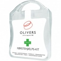 Olivers pirmosios pagalbos vaistinėlė