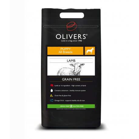 Olivers LAMB GRAIN FREE PUPPY ALL BREEDS