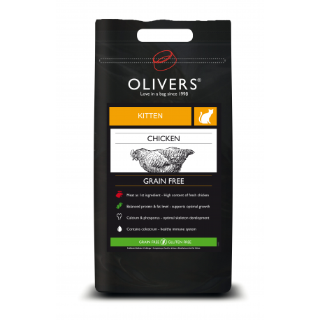 Olivers CHICKEN GRAIN FREE KITTEN