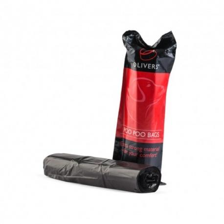 Oliver's Poo Poo bag 40vnt (higieniniai išmatų maišeliai)