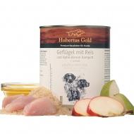 Hubertus Gold konservai su paukštiena ir ryžiais šunims 800g