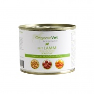 OrganicVet Lamb with millet & pumpkin konservai šunims