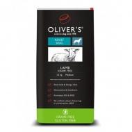 OLIVER'S ADULT DOG LAMB GRAIN FREE (Begrūdis pašaras su ėriena)